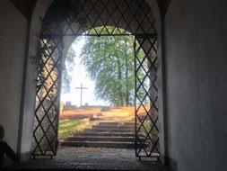 Blick aus der Kapelle