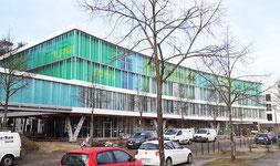 Film University Babelsberg Konrad Wolf, new teaching building 6, including cafeteria