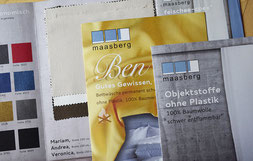Ben bedding and fabric without plastic