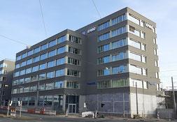 Construction site in Nuremberg, Marienzeile