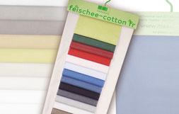 Unsere Stoffkollektion feischee-cotton fr