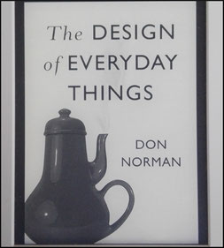 Buchcover von Don Normans Designs of everyday thinks