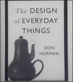 Buchcover von Don Normans Designs of everyday thinks