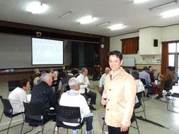 公民館での国際理解と英語の学習会