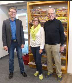 von links nach rechts: Olaf Hess, Klara Kotzur und Herwig Czernoch