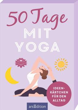 50 Tage mit Yoga - Ideenkärtchen für den Alltag / Lebe die Veränderung - Ideen für ein achtsames Leben mit Yoga