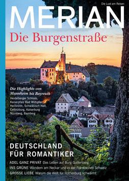 MERIAN Magazin Die Burgenstraße - Die Lust am Reisen