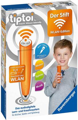 Ravensburger tiptoi - Der Stift - WLAN Edition Das audiodigitale Lern- und Kreativsystem für Kinder ab 3 Jahren. Audiodateien komfortabel über WLAN herunterladen