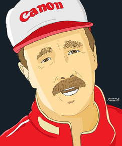 Nigel Mansell  by Muneta & Cerracín
