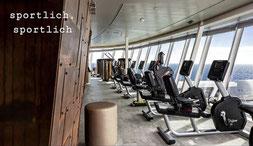 Der Fitnessbereich an Bord der Mein Schiff 1