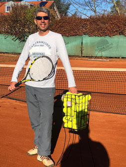 Trainer Sacha Neff Tennisschule Jarda