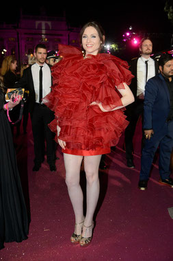 Sophie Ellis-Bextor wearing JCHOERL at Life Ball