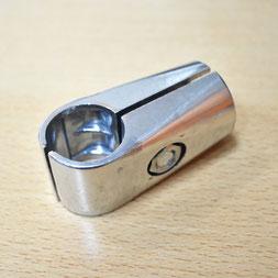 UNO 01X Соединитель двух труб, внутренний, хром