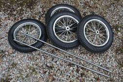 """Bild: Radsatz für die Seifenkiste """"Type One"""""""
