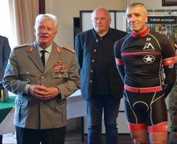 Generalinspekteur General Volker Wieker, Heinrich Thies und Rolf Starosta [v.l.n.r.]