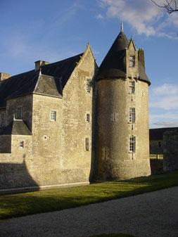 Vue sur l'ouest - Château de Saveilles - Saveille - Photos mariage en Charente