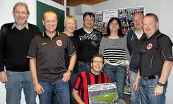 Vorstandsmitglieder des Fanclub Merenberg
