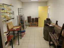 Matériels d'apiculture au musée de la Maison du Miel et des Abeilles du Val Dunois