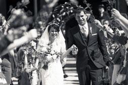 Hochzeitsbilder von Caroline und Hubert