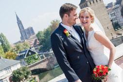 Hochzeitsbilder von Daniela und Thibault