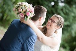 Hochzeitsbilder von Melanie und Raphael