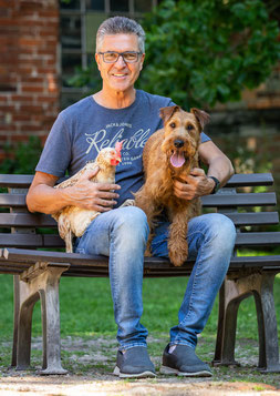 Ralf-Wigand Usbeck (Passionierter Hühnerexperte und Buchautor)