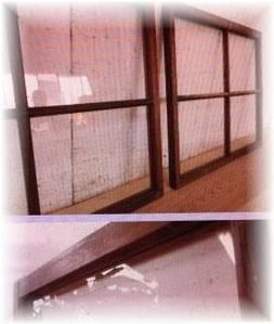 アンティーク窓