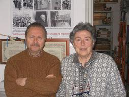 Anna Puglisi (re.) und Umberto Santino, Palermo 2015