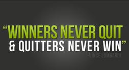 los que lo dejan todo nunca ganan