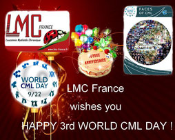 LMC France wishes you happy third world cml day journée mondiale 2013