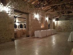 Salle de réception Château La Hitte 47230 Lavardac