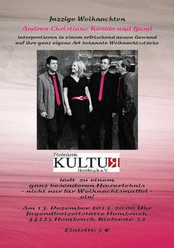 Andrea Kwade und Band