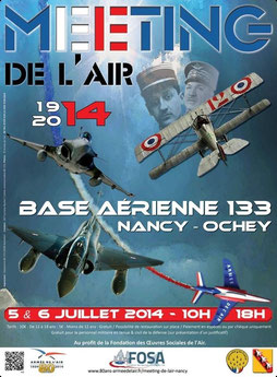photos Meeting Aerien BA-133 Nancy Ochey 2014 Mirage F1  rafale  airshow nancy base aerienne 133