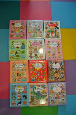 livres cartonnées locatroc family, livres imagerie des tout petits locatroc family
