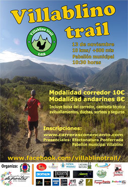 VILLABLINO TRAIL 2016 - Villablino, 13-11-2016