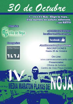 IV MEDIA MARATON PLAYAS DE NOJA - Noja, 30-10-2016