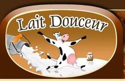 """Logo """"Lait douceur de Normandie""""."""