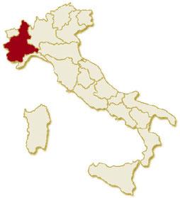 Italia regione Piemonte