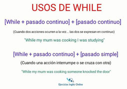 Pasado simple vs continuo en inglés
