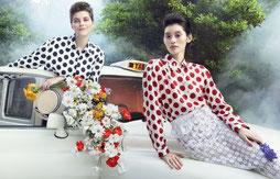 White London Taxis Elle Magazine