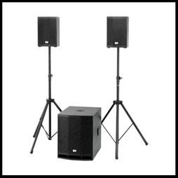 Musikanlage mieten verleih Alex Light and Sound