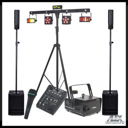 Musikanlage dB Technologies ES602 mieten verleih Alex Light and Sound