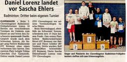Zeitungsartikel Achimer Kreisblatt vom 02.04.2015