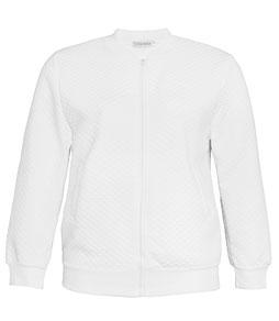 weiße Stoffjacke  Gr 48