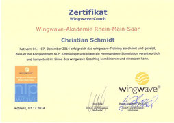 wingwave®-Coach Christian Schmidt in Saarlouis im Saarland