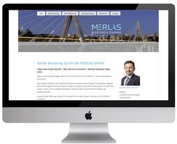 webdesign von dickesdesign für merlas aarberg