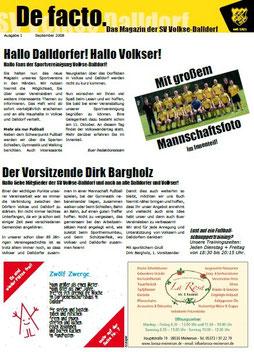 Ausgabe 1 - September 2008