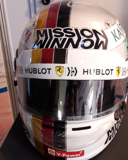 Arai Racing Helm Helmet  Vettel
