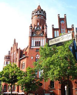Rathaus Schmargendorf. Foto: Helga Karl