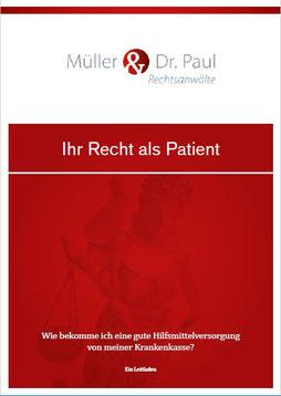 """Bild: Broschüre """"Ihr Recht als Patient"""""""
